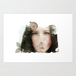 Tu tiempo, tú - Your time, you Art Print