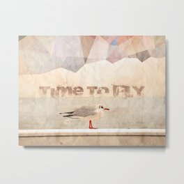 Time To Fly Metal Print