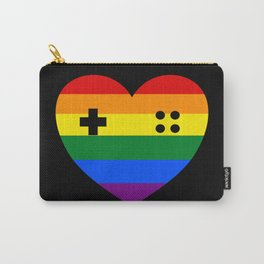 Rainbow Gamer Carry-All Pouch