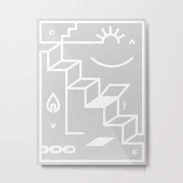 The Cave Metal Print