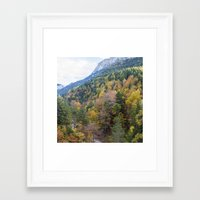 forrest Framed Art Prints featuring Forrest  by Veronika