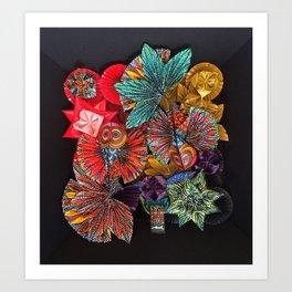 The Koi Art Print