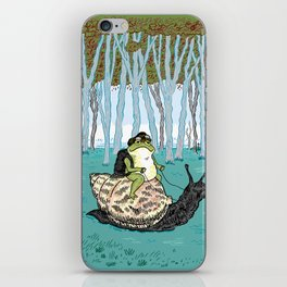 The Snail and The Frog iPhone Skin
