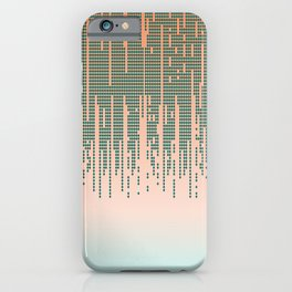 Desert Diamond Drip iPhone Case