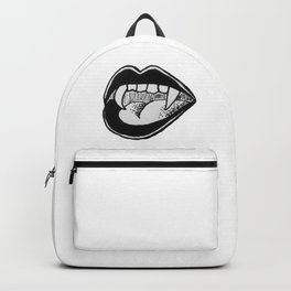 mouthing off Backpack