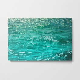 SIMPLY SEA Metal Print