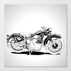 1937 Out Canvas Print