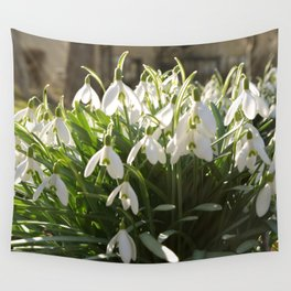 Snowdrops Wall Tapestry