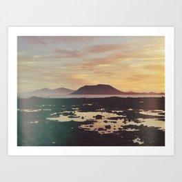 Fuerteventura Sunrise Art Print