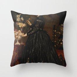 Frederic Leighton - Mrs. James Guthrie Throw Pillow