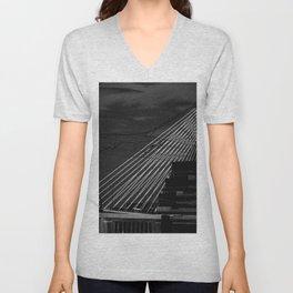 Bunker Hill Bridge Unisex V-Neck