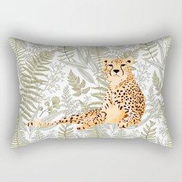 Vintage Cheetah Rectangular Pillow