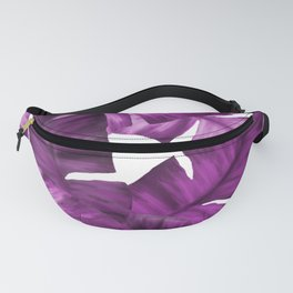 Pink Tropical Banana Leaves Pattern Fanny Pack