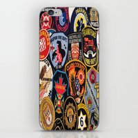 heroes iPhone & iPod Skins featuring Heroes by TechkyDude