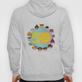 happy 50th small world! Hoody