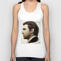 lee pace Tank Tops featuring Lee Pace by LindaMarieAnson