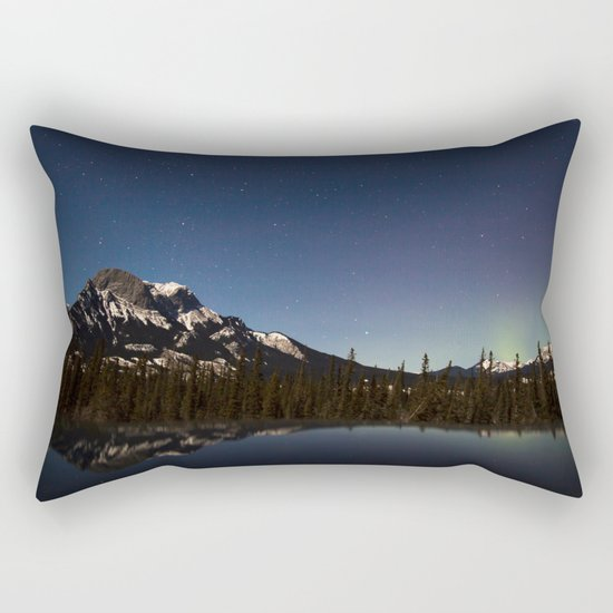 Northern lights #photography Rectangular Pillow