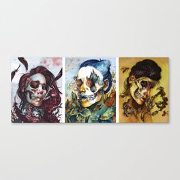 THE QUEENS Canvas Print