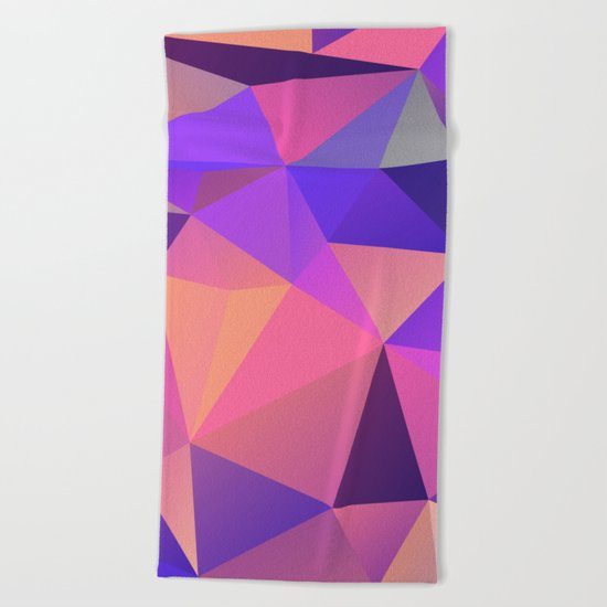 Geometric XX Beach Towel