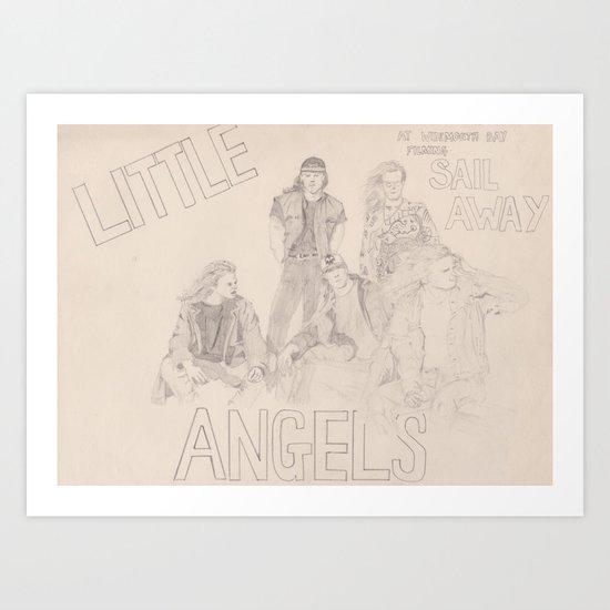 Little Angels Art Print