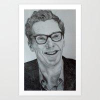 cumberbatch Art Prints featuring Benedict Cumberbatch by Jess5_11