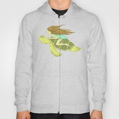 The Girl and the Turtle Hoody