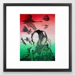 Starry Reawakening I Framed Art Print
