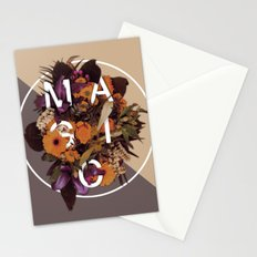 Flower typo Stationery Cards