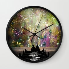 The Universe Was Ours Wall Clock