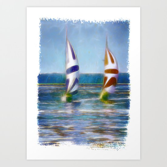 The Wind In Your Sails Art Print