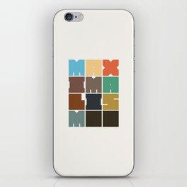 MAXIMALISM.. (Colors) iPhone Skin