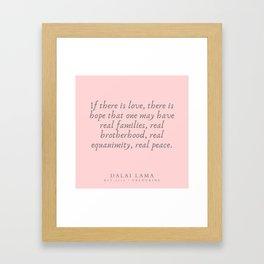 124   | Dalai Lama Quotes 190504 Framed Art Print
