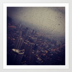Urban Rainstorm 2 Art Print