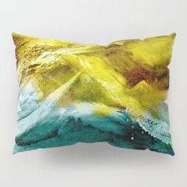 Abstract Mountain Pillow Sham