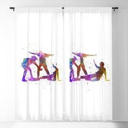 baseball players 01 Blackout Curtain