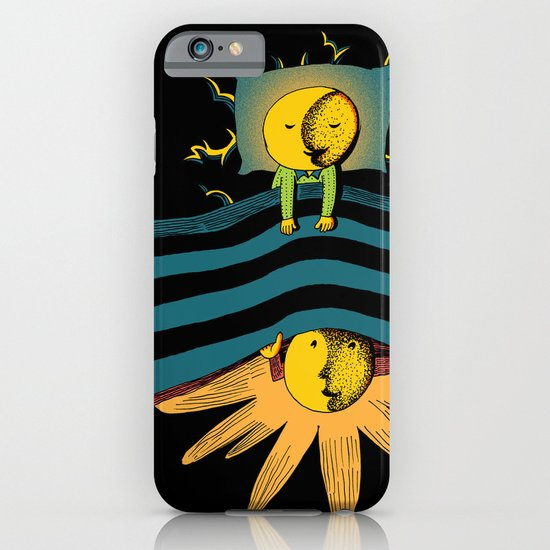 Time In Bed iPhone & iPod Case