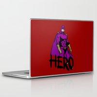 hero Laptop & iPad Skins featuring Hero by Logan_J