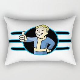 Fallout 4 Vault Boy Thumbs Up Rectangular Pillow
