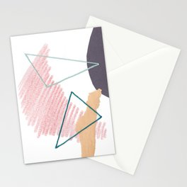 Stitched Abstraction #4 Stationery Cards