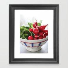 Les Radis Rouges Framed Art Print