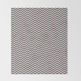 Happy zigzag Throw Blanket
