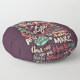 Solving Problems, Making Things Floor Pillow