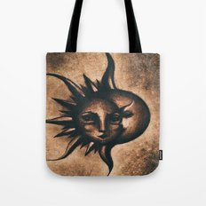 Lune et Soleil (Moon and Sun) Tote Bag