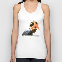 dale cooper Tank Tops featuring Black Mirror | Dale Cooper Collage by Julien Ulvoas
