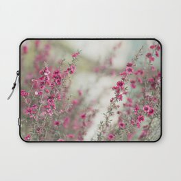 pink flowers  Laptop Sleeve
