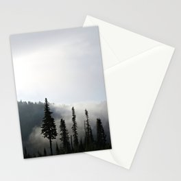 Morning Mist on the Mountain Stationery Cards