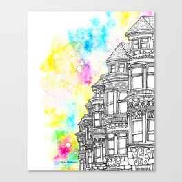 Splash | San Francisco Canvas Print
