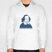shakespeare Hoodies featuring Shakespeare by thatonedude