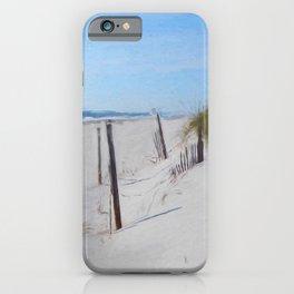 Van Gogh's Beach iPhone Case