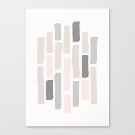 Soft Pastels Composition 1 Canvas Print